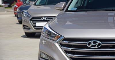 Hyundai vehiculos