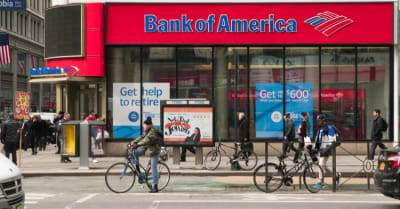 Bank of America branch retail location in Manhattan. Photographed during the day time