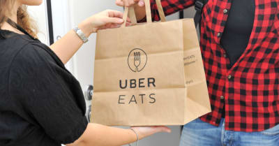 uber eats home delivery - you can order food from the restaurant and eat it at home