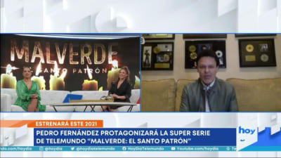 Pedro Fernández protagonist series