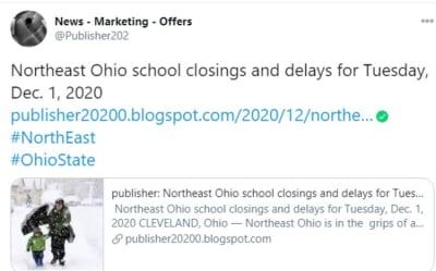 School closings: cierres y retrasos en escuelas de Ohio por mal clima