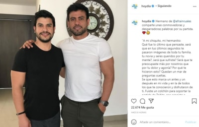 Pablo Ruales Brother Efraín Ruales message