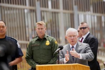 Jeff Sessions, separar, niños, inmigrantes, frontera, Estados Unidos, México, ONU, HHS, CBP