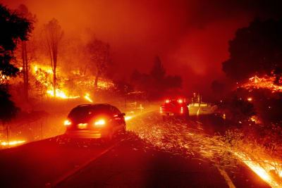 Incendios en California fotos
