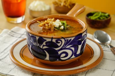 Sopas mexicanas para calentar los días de frío