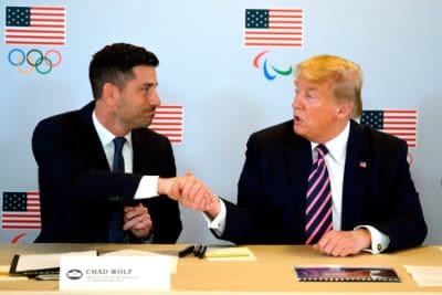 Chad Wolf renuncia, Secretario Trump, Secretario de Seguridad Nacional