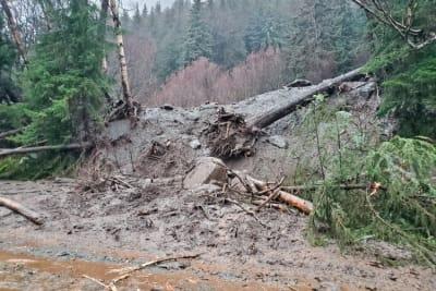 Deslave en Alaska deja 2 desparecidos y destruye viviendas