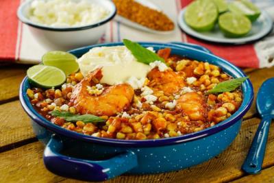 Recetas con camarones ideales para compartir en familia