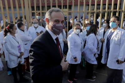Vacunas México, Marcelo Ebrard, coronavirus, vacunación en México