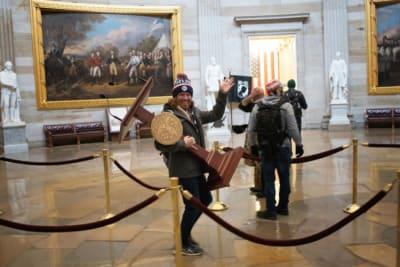 Michelle Obama Ataque Capitolio