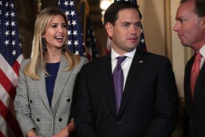 Ivanka Trump Senado, Hija de Trump, Candidata, Marco Rubio