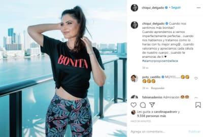 Chiqui Delgado leggins novia Jorge Ramos 1