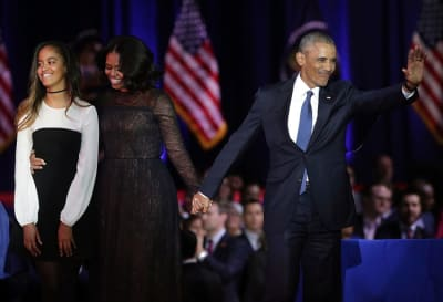 Barack Obama hijas cuarentena, Malia, Rory Farquharson, Sasha