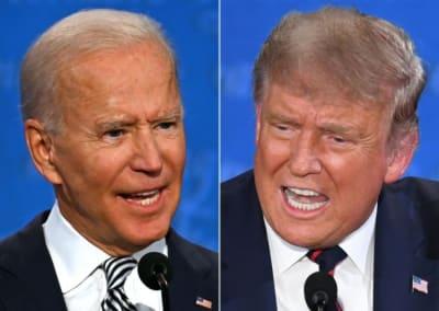 Biden cansado de Trump