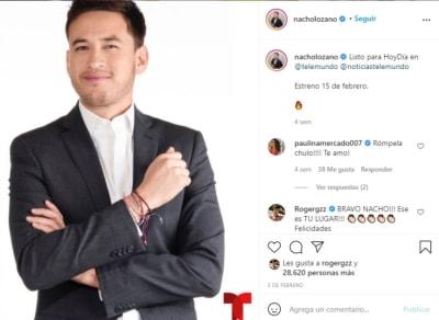 Nacho Lozano Today Telemundo Day 3