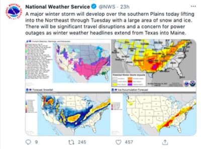 tormenta invernal texas