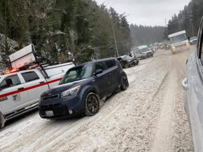 Black Ice Georgia, Gwinnett, fulton, winter storm