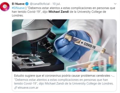 Autopsias coágulos coronavirus
