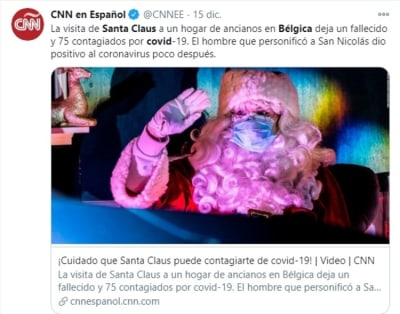 Santa Claus coronavirus 2 asilo