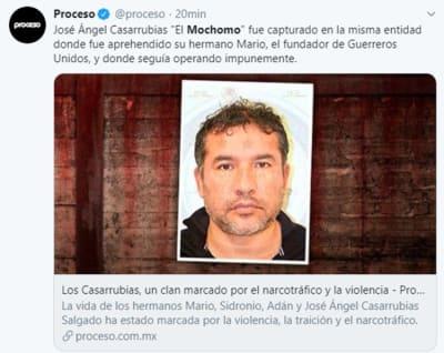 Detienen El Mochomo