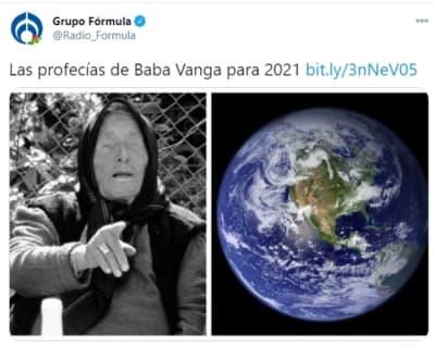 Baba Vanga predicción 2021 1
