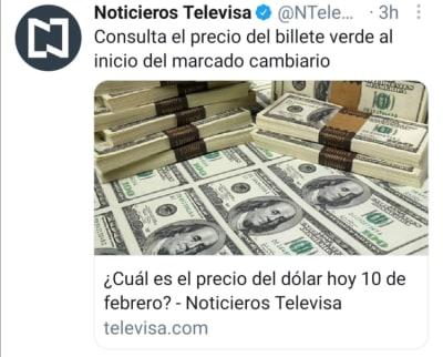Mexican peso February 10