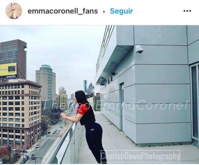 Emma Coronel rearguard