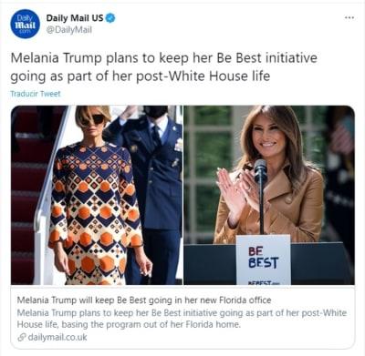 Melania Trump Be Best 3