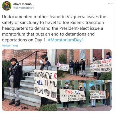 Mexicana pide Biden legalización indocumentados 3