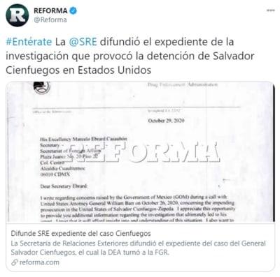 Expediente Salvador Cienfuegos exonerado 2