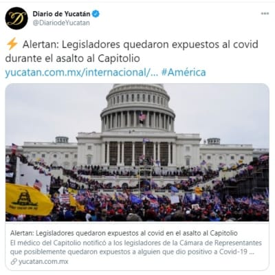 Legisladores Capitolio coronavirus 3