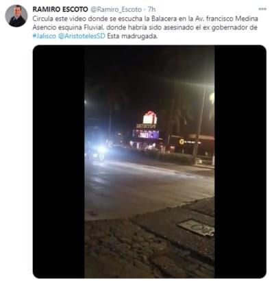 Exgobernador de Jalisco asesinado, Aristóteles Sandoval, Puerto Vallarta asesinato