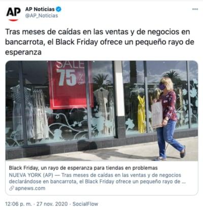 Black Friday tiendas: un rayo de esperanza para negocios en problemas