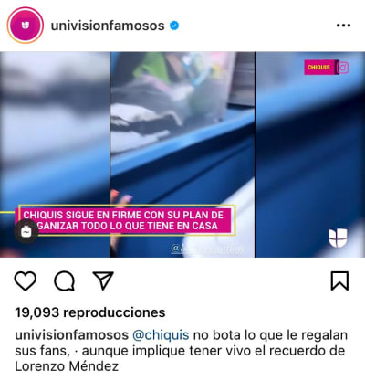 Chiquis Rivera recuerdos Lorenzo