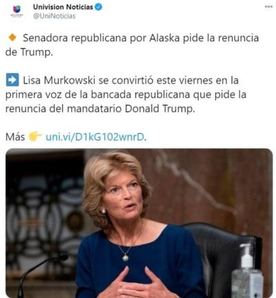 Murkowski pide renuncia Trump 3