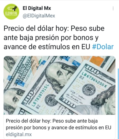 Mexican peso March 1, this is how the dollar sells today