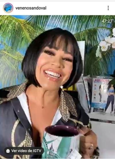 La Veneno Sandoval Aclara Romance Cesar Conde Exesposo Pamela Silva