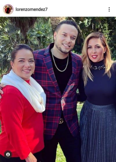 Lorenzo Méndez se deja ver con Adamari López y La Chiquibaby y le dicen que no vuelva con Chiquis