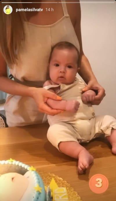 Mientras Pamela Silva no duda en presumir lo grande que está su bebé Ford, Larry Hernández aún no muestra a su hija