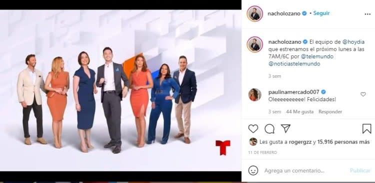 Nacho Lozano Today Telemundo Day 2