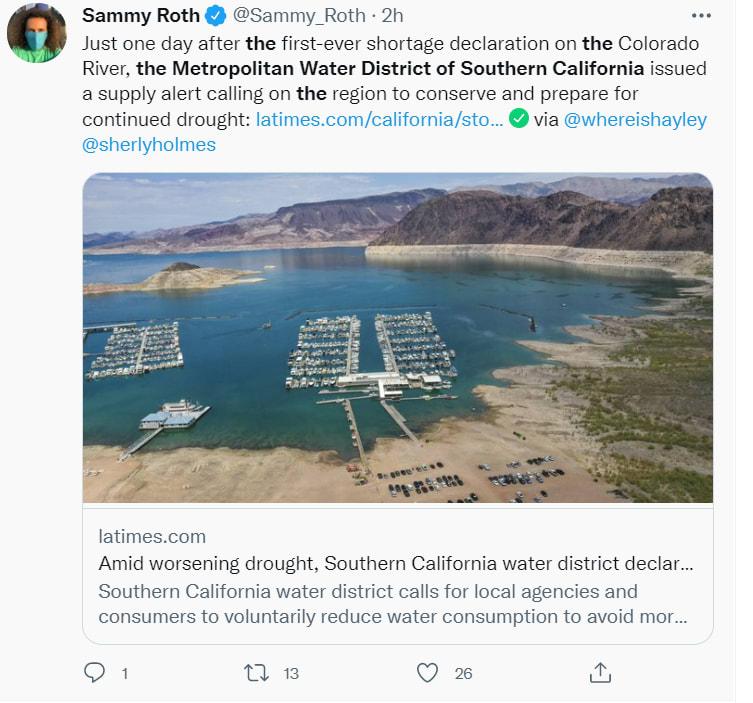 Alerta sequía