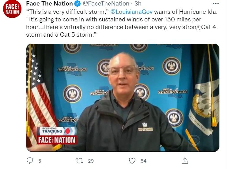 Huracán Ida Luisiana impacto: Categoría 4