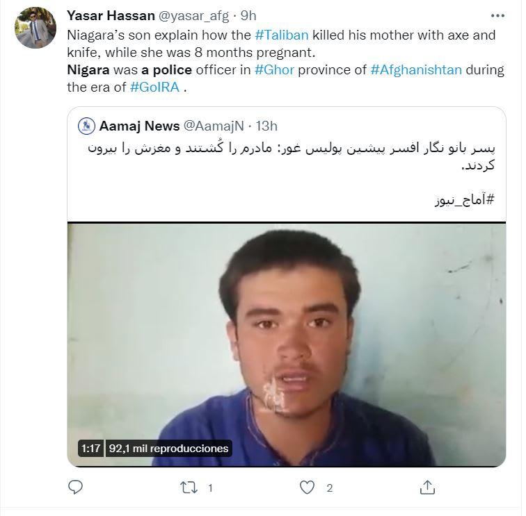 Habló el portavoz de los talibanes