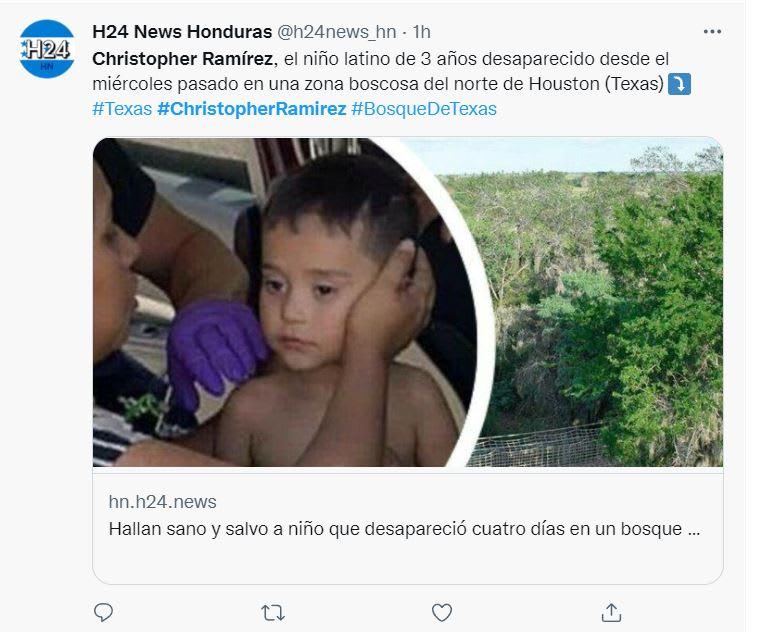 Abuelo Christopher Ramírez declaraciones: Quieren que regrese a casa
