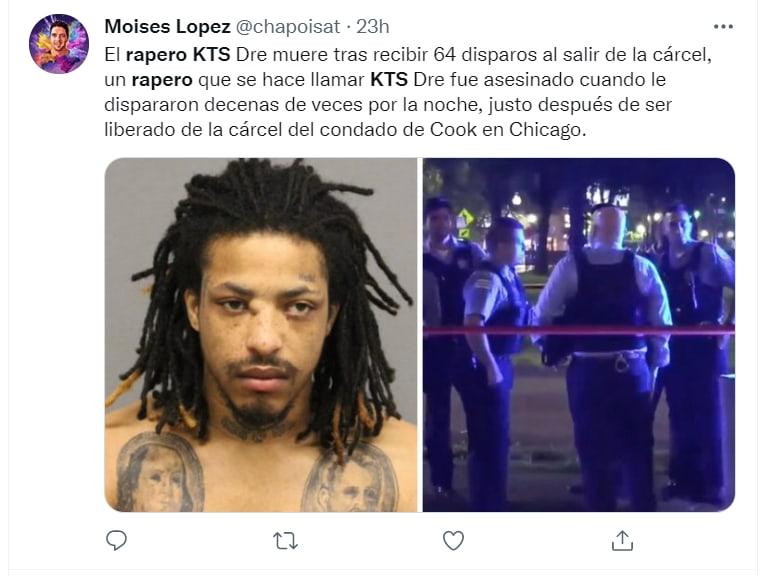 muere rapero saliendo prisión: El asesinato de KTS DRE