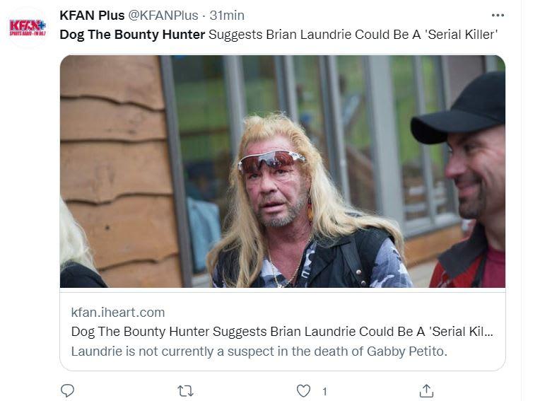 Asesino serial Brian Laundrie: ¿Asesino en serie?