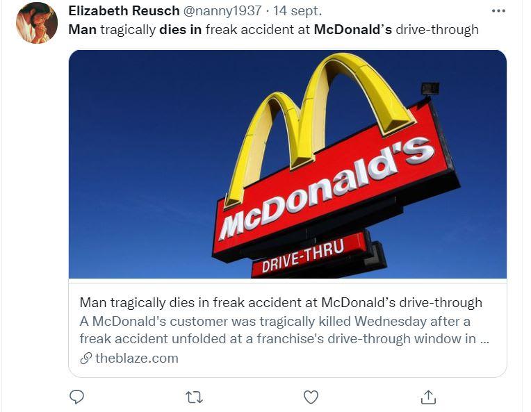 Hombre muere comprar McDonalds: Lo que ocurrió en Mcdonald's