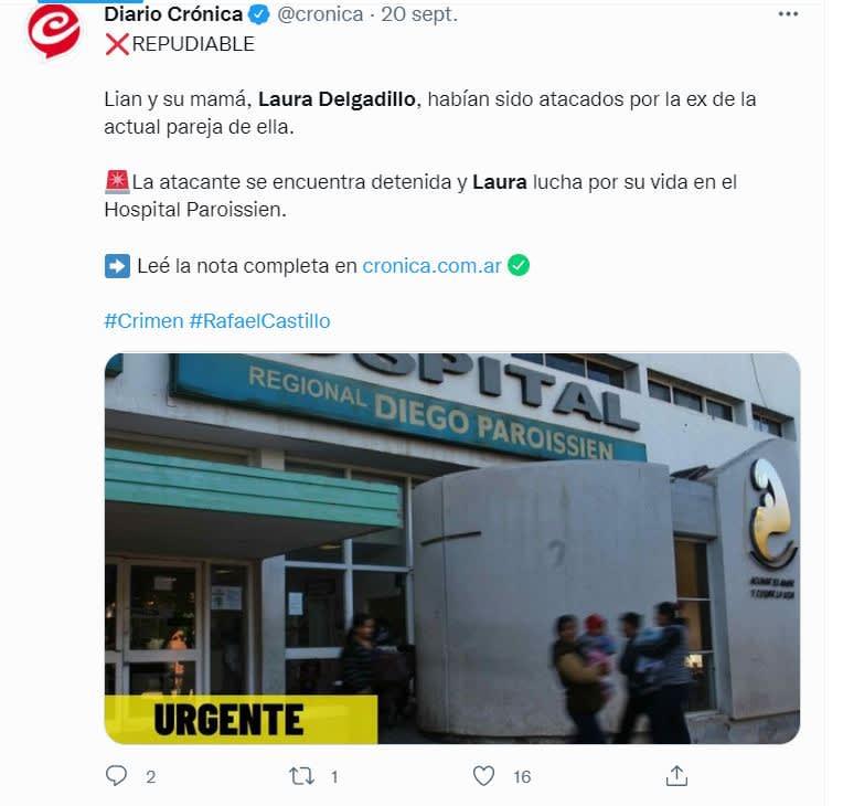 Mujer quema vivo niño Argentina: Fueron llevados al hospital