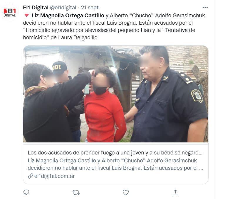 Mujer quema vivo niño Argentina: El ataque a Laura