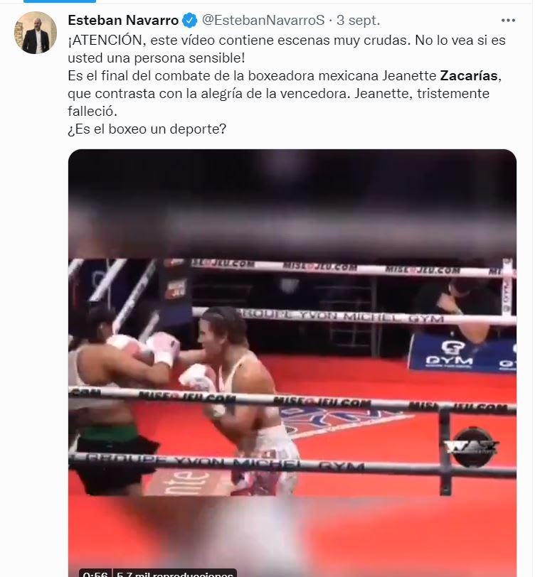 Esteban Zacarías Jeanette Zacarías: El padre rompe el silencio